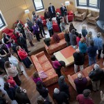 President-elect meets faculty, staff
