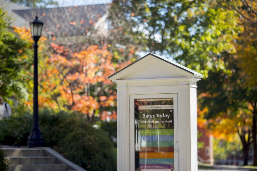 Fall foliage peaks on the Historic Quad.