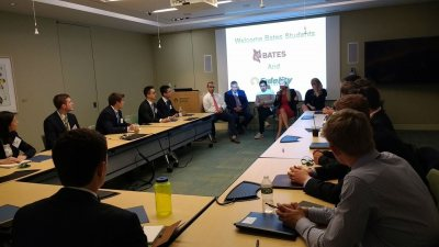 Bates Boston Finance Roadshow atFidelity Investments to hear from eight Bates alumni at the firm about careers for liberal arts graduates.