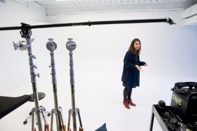 Tour of Conde Nast photo studios led by Rose Gold '10