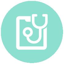 round icon healthcare