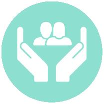 circle icon community
