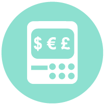 circle icon finance