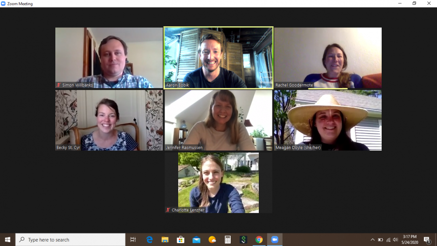 Seven members of our group from the 2006 summer short-term abroad trip to the Shetland Islands, Scotland held a special #BatesReunion on Zoom in May. It had been more than a decade since we got together! - Aaron Bobik '10