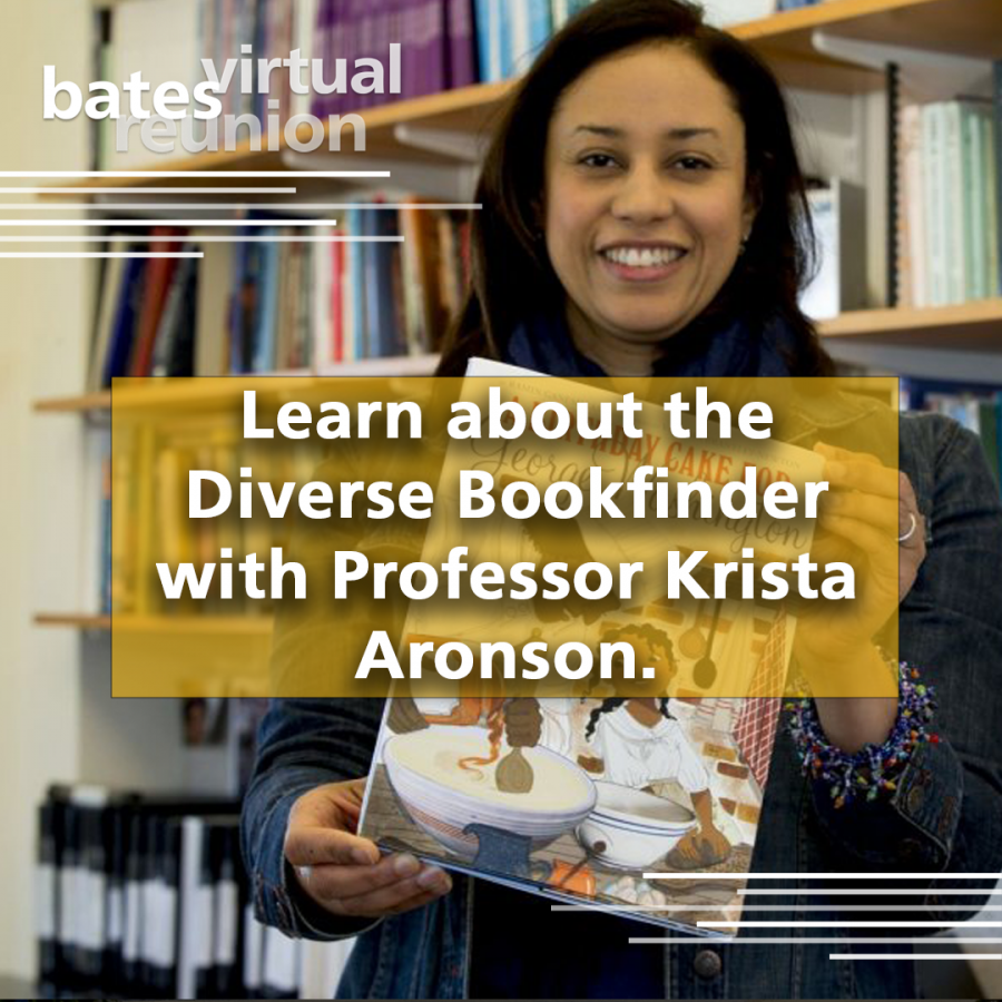 Learn about the Diverse Bookfinder with Professor Krista Aronson.