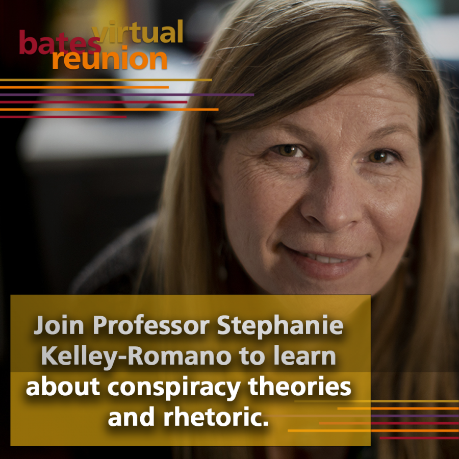 Join Professor Stephanie Kelley-Romano to learn about conspiracy theories and rhetoroic.