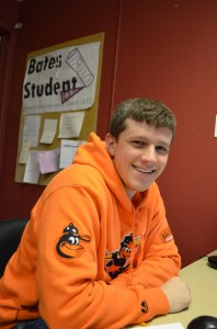"Alex Daugherty- Editor in Chief of ""The Bates Student"""