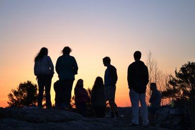 Sunset on Mount David