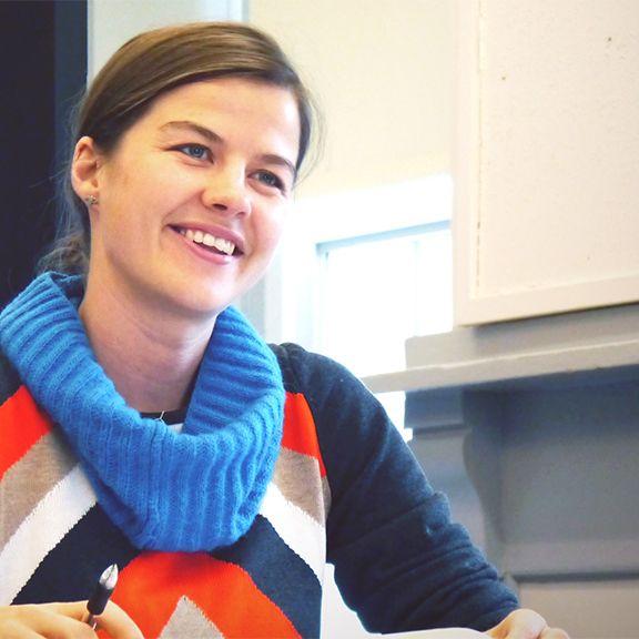 Elizabeth Rush Mueller, Bates College Mellon Fellow and climate change creative nonfiction writer