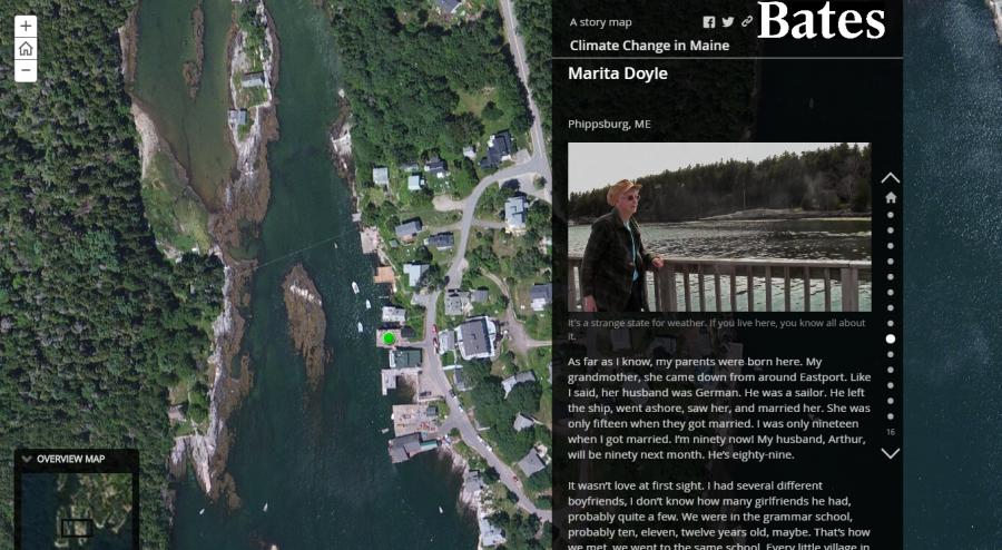 Story Map Screenshot for Web