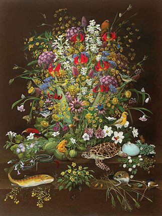 "Descendant, 1999, Isabella Kirkland (American), 48""x 36"", Museum Purchase"