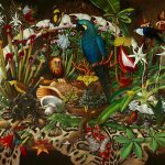 Trade, 1999, Isabella Kirkland (American), 36 x 48 inches, Museum Purchase
