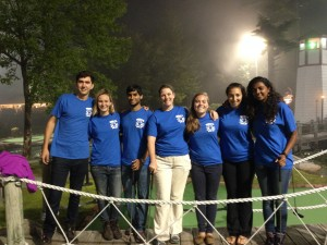 The Williams/Disney Lab, summer of 2014 (L to R): Alden Dirks (Swathmore College), Mary Badger (Smith College), Nabil Saleem (Bates), Larissa Williams, Katie Paulson (Bates), Sophie Salas (Bates), Roshni Mangar (College of the Atlantic)