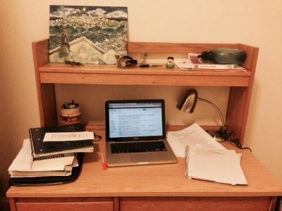 "Where the writing ""magic"" happens"