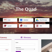 The Quad Homepage