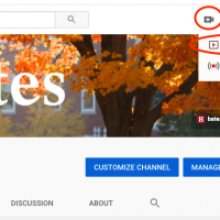 Upload Workflow to the Bates College YouTube