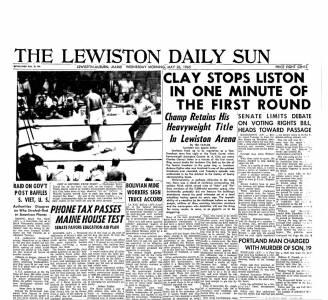 Ali, Liston, Lewiston, Bates